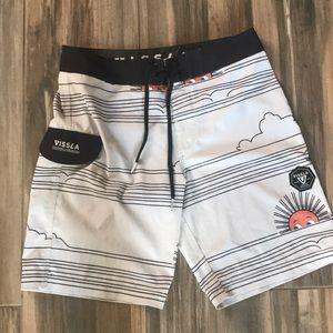 VISSLA Board Shorts Fun Sun Size 26